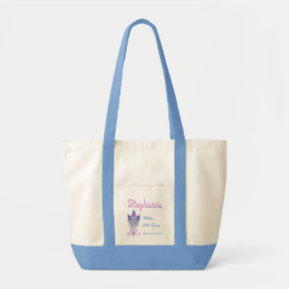 Mother of the Groom or Any Wedding Role Peacock V2 Tote Bag