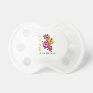 Mother Of The Groom BooginHead Pacifier