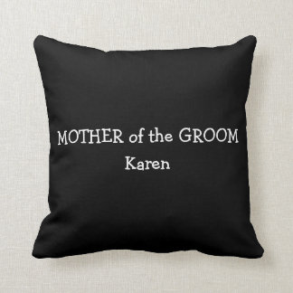 Mother of the Groom Pillow