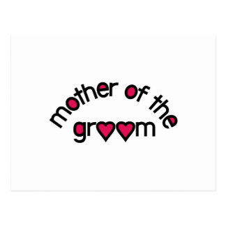 Mother Of The Groom Postcard