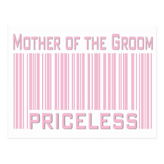 Mother of the Groom Priceless Postcard