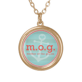 Mother of the Groom Sailor Necklace