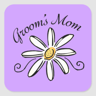 Mother of the Groom Square Sticker