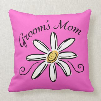 Mother of the Groom Throw Pillows