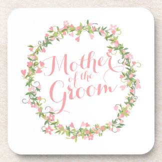 Mother of the Groom Watercolor   Coaster