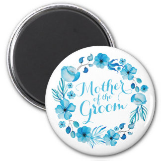 Mother of the Groom Watercolor | Magnet
