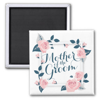 Mother of the Groom Watercolor Wedding | Magnet