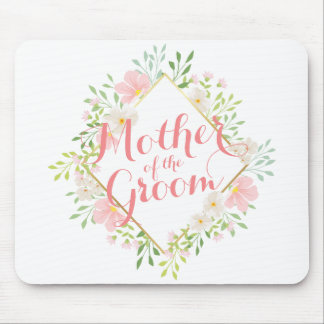 Mother of the Groom Watercolor Wedding Mousepad
