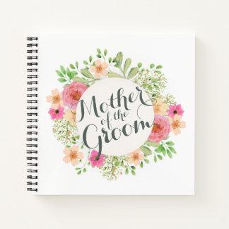 Mother of the Groom Wedding Guestbook Notebook