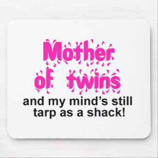 Mother of Twins Mouse Pad