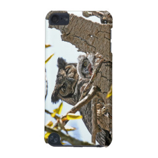 Mother Owl and Baby in Nest iPod Touch 5G Case