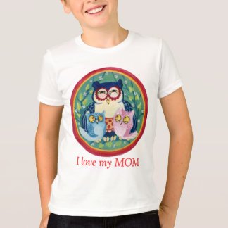 Mother owl T-Shirt