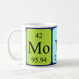 Mother periodic table name mug