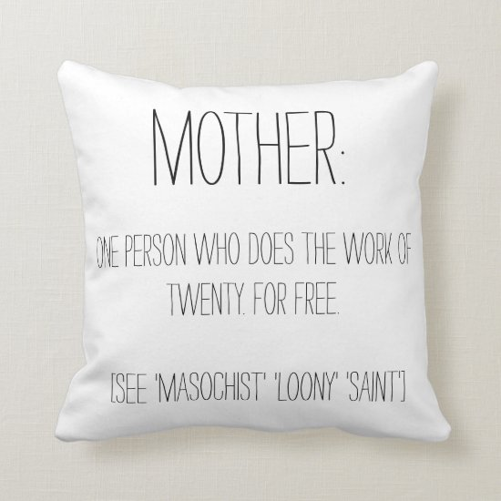 Mother Pillow - Mother's Day Gift