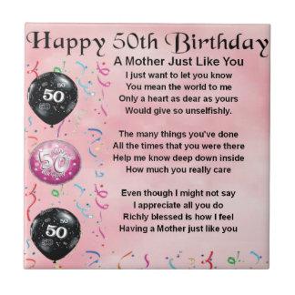 Verjaardagswensen 50 Jaar Moeder Archidev