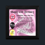 """Mother Poem  -  65th Birthday Jewelry Box<br><div class=""""desc"""">A great gift for a mother on her 65th birthday</div>"""