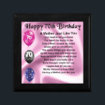 "Mother Poem - 70th Birthday Jewelry Box<br><div class=""desc"">A great gift for a mother on her 70th birthday</div>"
