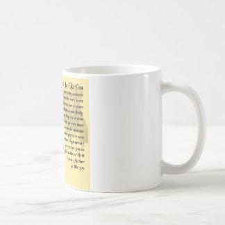 Mother Poem - Boxer Dog Design Coffee Mug