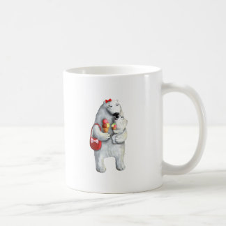 Mother Polar Bear Coffee Mugs