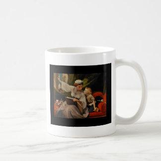 Mother Reading a Fairytale Coffee Mug