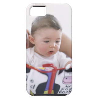 Mother reading to baby boy. Faces of a mother iPhone SE/5/5s Case