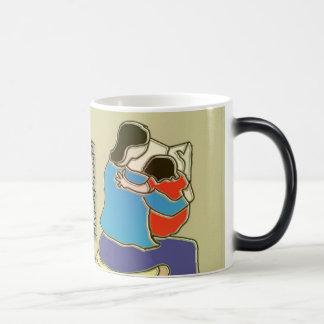 Mother Reading to her Child Magic Mug