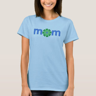 Mother's Day Blue Spring Flowers T-Shirt