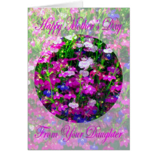 Mother's Day Bouquet from Daughter Cards