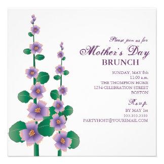 Mother s Day Brunch Floral Garden Invitation