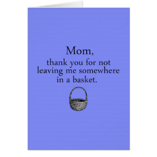 Mother s Day Funny Card
