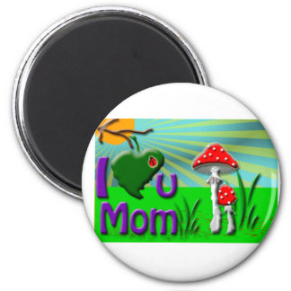 Mother;s Day gift 2 Inch Round Magnet