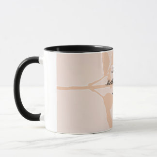Mother`s Day Gift - Peach Rose Mug