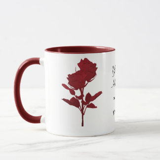 Mother`s Day Gift -Red Roses Mug