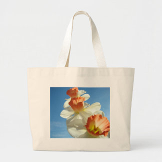 MOTHER'S DAY GIFTS 2 NARCISSUS Flowers Tote Bags