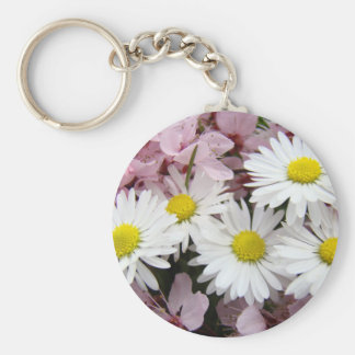 MOTHER'S DAY GIFTS 32 Blossoms Daisies Mom Mothers Keychain