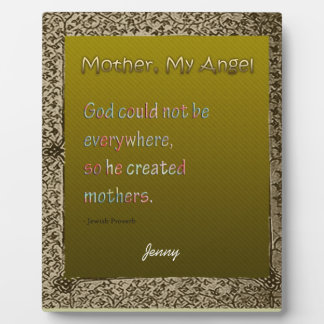 Mother's Day Greetings  3 Plaques