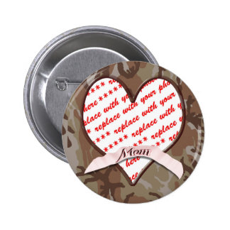 Mother s Day Memento Photo Frame Buttons