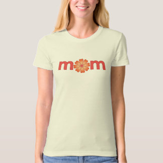 Mother's Day Orange Spring Flowers T-Shirt