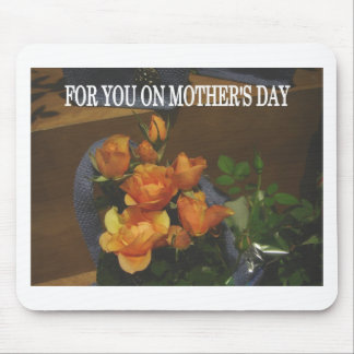 Mother s day rose bouquet mouse pads