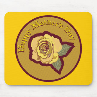 Mother s Day Rose Mouse Mat