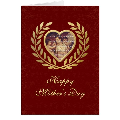 Mother's Day Theme with Heart Card