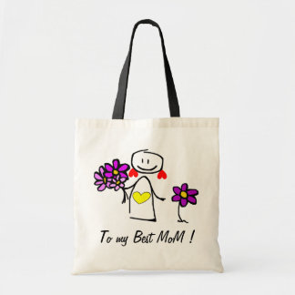 """Mother' S Day Tote Bag - Personalyze """"Fairy MoM """""""