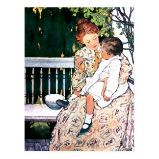 Mother s Day Vintage Style Customizable Postcards