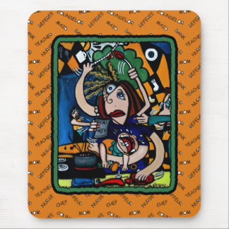 Mother s Day WAHM Busy Mom Mousepad
