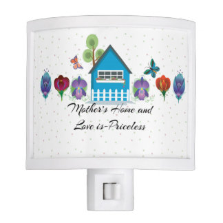 Mother s Home and Love is-Priceless Night Light