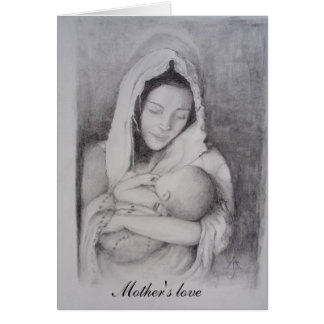 Mother,s love greeting card