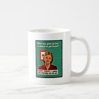 Mother Saying Don't Waste Gasoline Coffee Mug