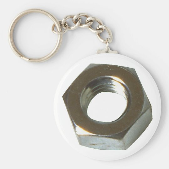 Mother screw groove keychain