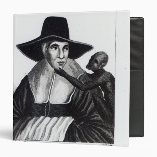 Mother Shipton, engraved by John Scott, 1804 3 Ring Binder
