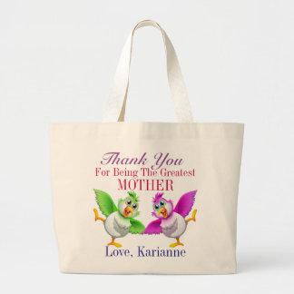 Mother, Sister, Friend, Grandmother, Teacher Large Tote Bag